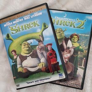 Other Shrek And Shrek 2 Dvd Poshmark